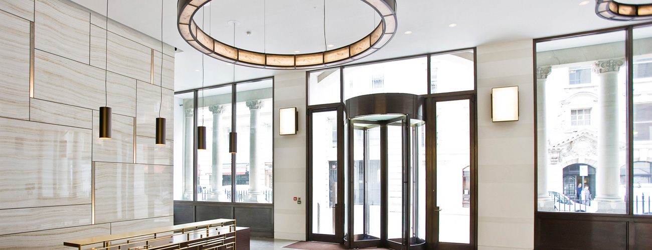 Lighting project used on Wimpole Street