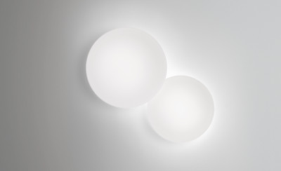 Two round lights
